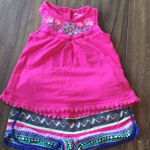 Gymboree 5T summer boho set